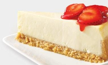 No Bake Strawberry Chutter® Cheesecake